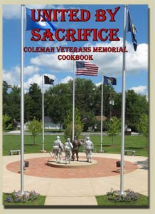 Coleman Veterans Memorial Cookbook